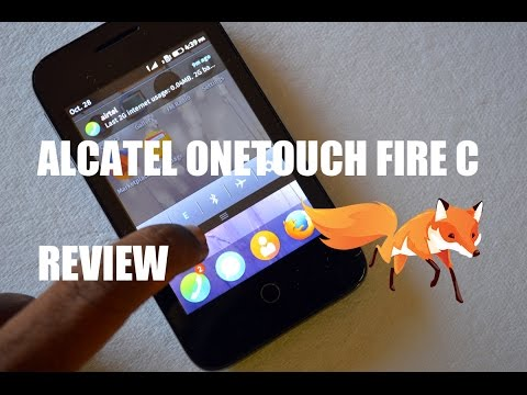 Alcatel OneTouch Fire C Firefox Smartphone Review