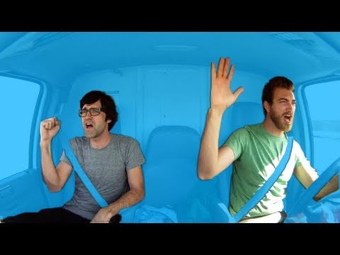 BEST ROAD TRIP SONGS EVER - Rhett & Link
