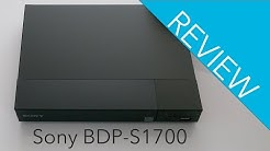 Sony BDP-S1700 Blu-ray Player Review