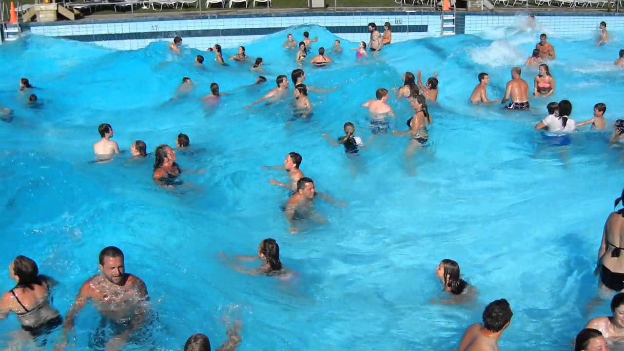 Piscina De Onda A Maior Divers O Youtube
