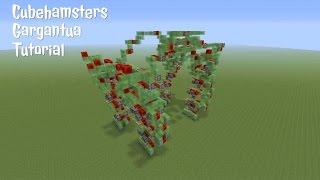 Minecraft: Gargantua Tutorial | Cubehamster's Walking Slime Block Robot | Java 1.15.2+