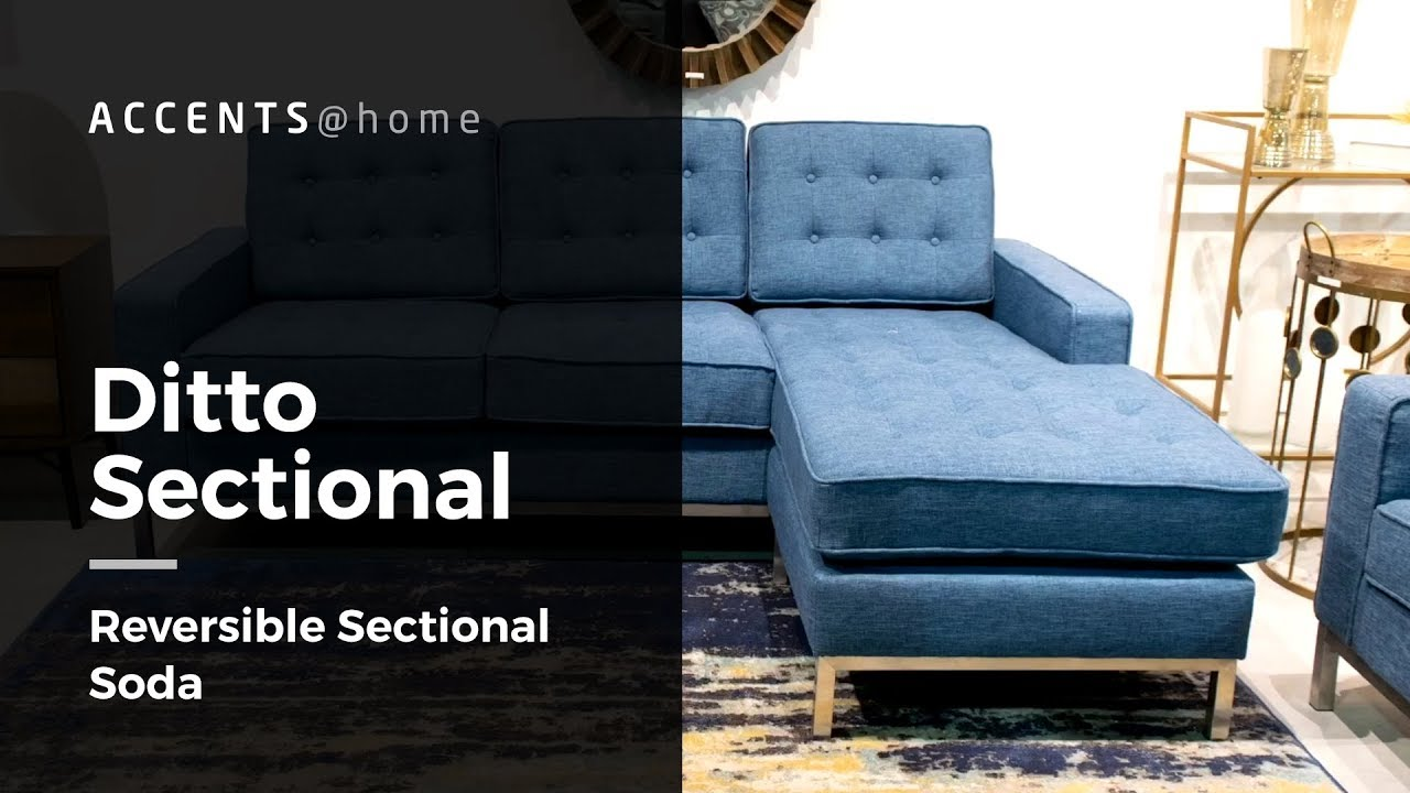 Ditto Sectional - Reversible Sectional Sofa | Upscale styles at Affordable  Prices