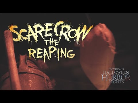 Scarecrow: The Reaping House Reveal   Halloween Horror Nights 2017