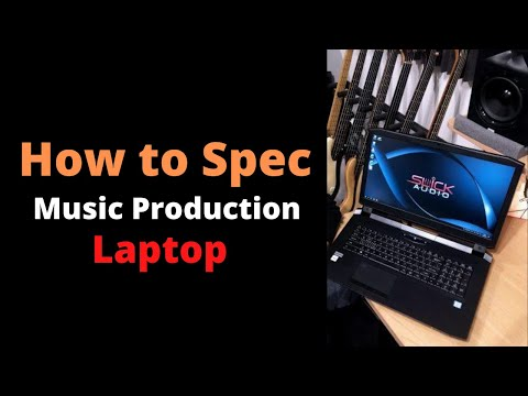 How To Spec A Music Production Laptop - Live At NAMM 2020