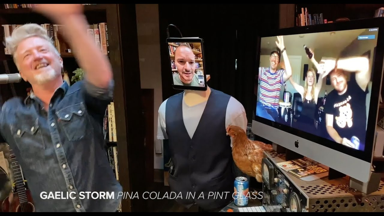 Gaelic Storm - Piña Colada in a Pint Glass (Quarantine Style)