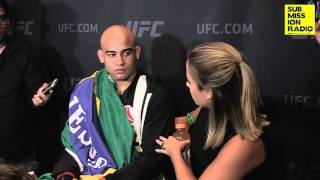 UFC 194: Warlley Alves post-fight interview