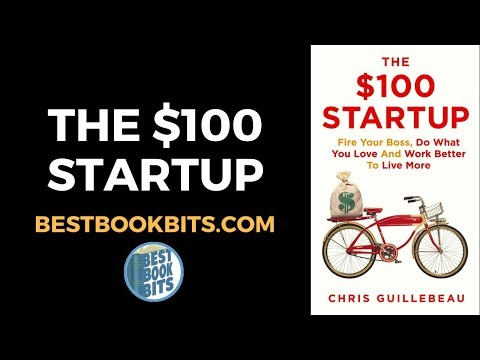 Chris Guillebeau: The $100 Startup Book Summary