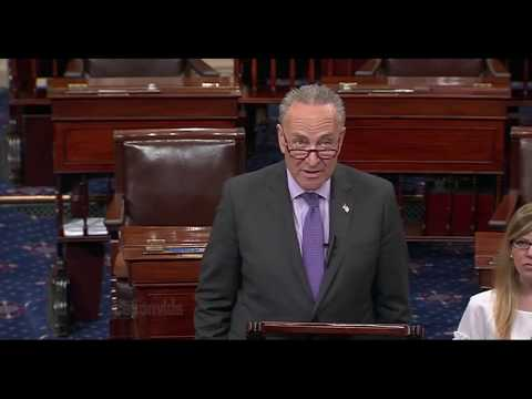 Chuck Schumer REACTS to the GOP health care failure & Trump's Obamacare Tweets 7/18/2017 video