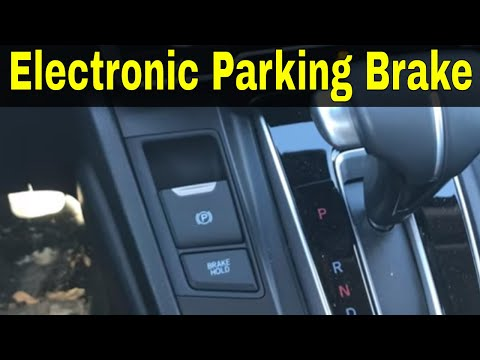 How To Use An Electronic Parking Brake-Driving Lesson
