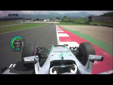 F1 2016 R9 Austria - Lewis Hamilton Pole Lap