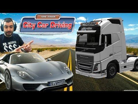 Porsche 918 Spyder-VOLVO FH 2014/Test Drive/ City Car Driving #15