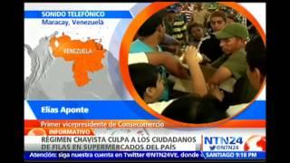"""""""En la Vzla de hoy el gobierno es un factor de caos"""": MUD sobre acusaciones en contra de ciudadanos"""