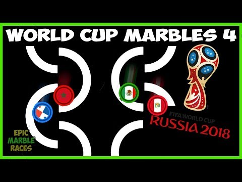 FIFA 2018 World Cup Marble Race - Semi-Finals