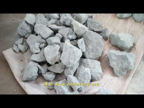 Antimony ore beneficiation process /Stibnite  beneficiation process