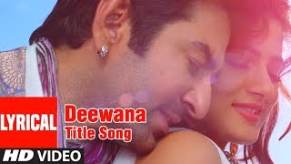Deewana Title Song Lyrical Video | Deewana Bengali Movie | Jeet, Srabanti