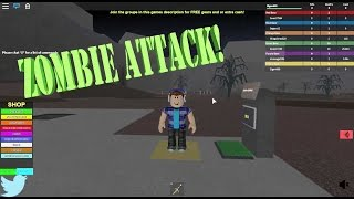 ZOMBIES!!! Roblox Zombie Tycoon