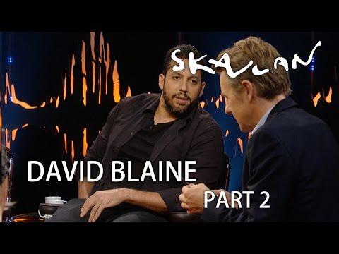 David Blaine ice pick magic | Skavlan | Part 2 |