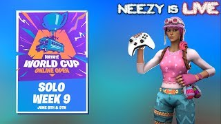 Fortnite live | World Cup Qualifiers! | Controller On PC | vBucks Giveaway!