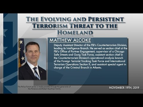 The Evolving and Persistent Terrorism Threat to the Homeland