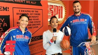 Harlem Globetrotters dunk all over ESPN campus | College Basketball Bonanza