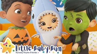 Baby Shark Halloween! | Halloween 2019 | Kids Videos | costumes | Moonbug Kids After School