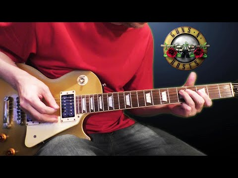 Guns N' Roses – Paradise City (guitar cover)