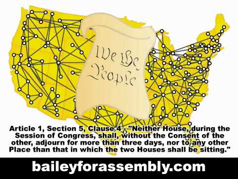 Richard Bailey - State Assembly 77th District of California - BRING HOME THE POLITICIANS