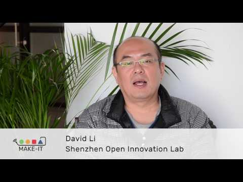 Which are the challenges for Maker CAPS? David Li, Shenzhen Open Innovation Lab