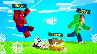 SPEEDRUNNERS vs. SPIDERMAN In MINECRAFT!