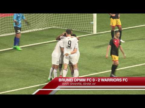 The New Paper League Cup (SEMI-FINAL): Brunei DPMM FC vs Warriors FC (18 July 2017)
