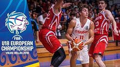 Spain v Turkey - Full Game - FIBA U18 European Championship 2019