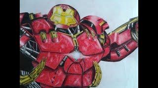 The Hulkbuster Drawing