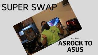 aSRock H270 Pro4 vs ASUS Z270E Gaming Strix install and swap