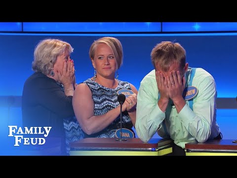 Andrew is AMAZING! | Family Feud