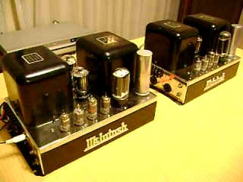 McINTOSH MC30 TUBE AMPLIFIER MONOBLOCKS