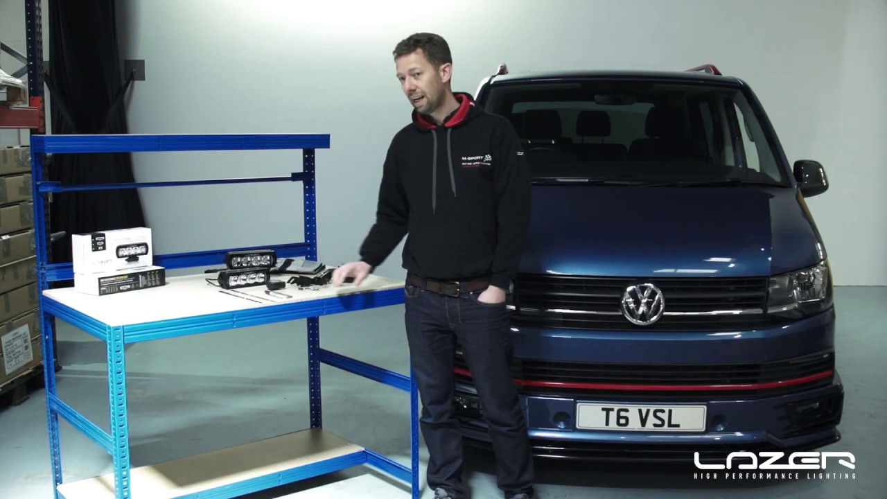 HOW TO: VW Transporter 6 Grille Kit Installation from Lazer Lamps