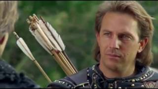 Robin Hood Prince of Thieves, Arrow scene