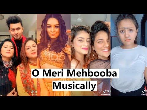 O Meri Mehbooba Musically |  Mrunal, Ashika, Manjul, Avneet, Awez Darbar