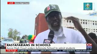 Rastafarians In Schools: 'It Was Obvious That The Constitution Was Being Violated' - Raswad Nkrabea