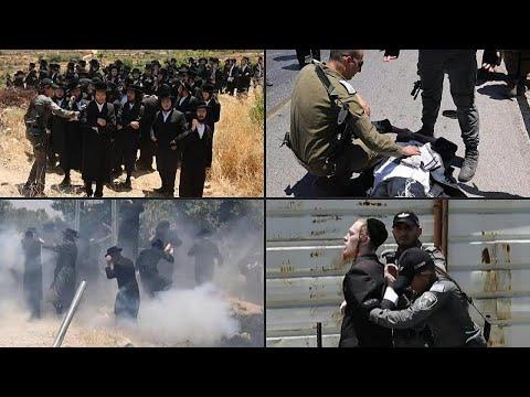 شاهد: الشرطة الإسرائيلية تفرق مظاهرة ليهود متشددين بالضفة الغربية…  - نشر قبل 8 ساعة