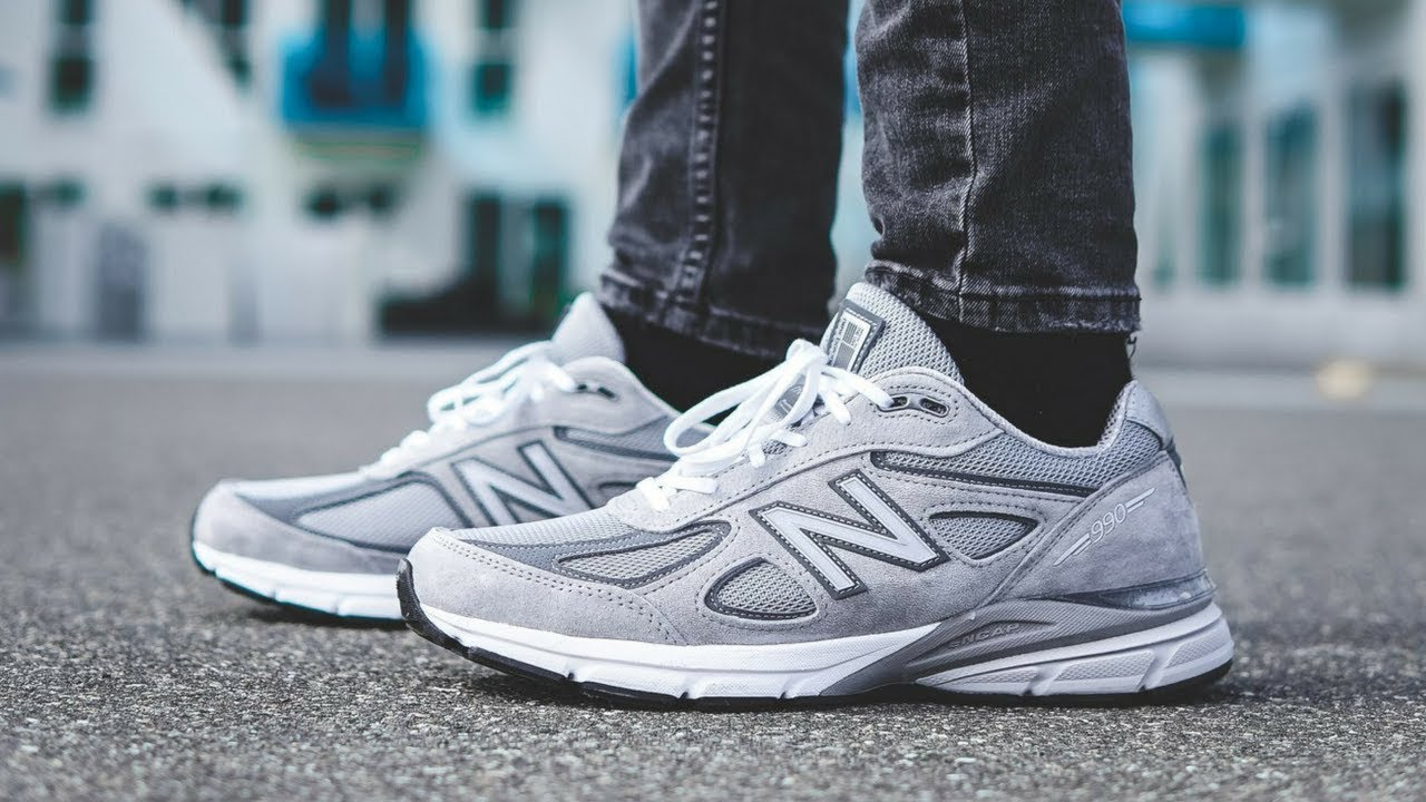 "quality design 85a68 c0e66 New Balance 990V4 ""Grey"" 