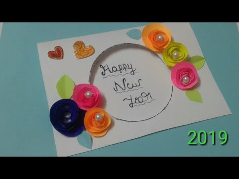 Beautiful Handmade Happy New Year 2019 Card Ideas Diy Greeting Cards For New Year