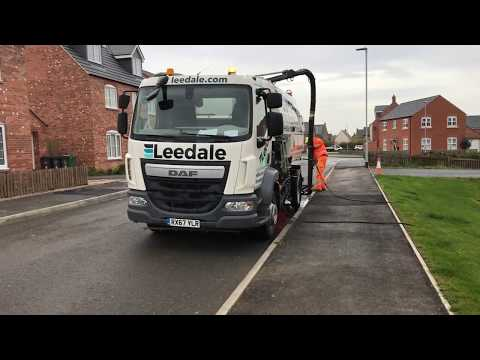 Our New Johnston Road Sweeper