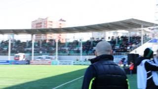 На стадионе в Грозном звучит гимн Крыма.