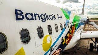 TRIP REPORT | LOUNGE IN ECONOMY!? Bangkok Airways | Airbus A320 | Bangkok (BKK) - Phuket (HKT)
