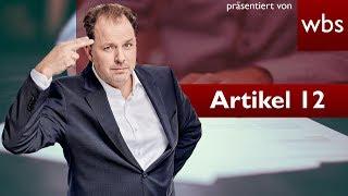 Artikel 12 - Urheber sind die Verlierer | Rechtsanwalt Christian Solmecke