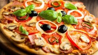 5 продуктов для пиццы. PIZZA ASSORTITO. Видео рецепт.