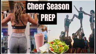 GETTING FIT FOR CHEER SEASON - What I Eat, Fitness Routine | Alyssa Revecho