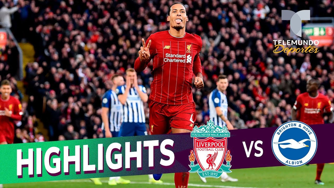 Liverpool Vs Brighton 2 1 Goals Highlights Premier