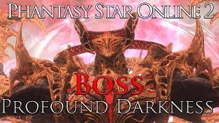 Phantasy Star Online 2 - Boss: Dark Falz Double & Profound Darkness (XH)